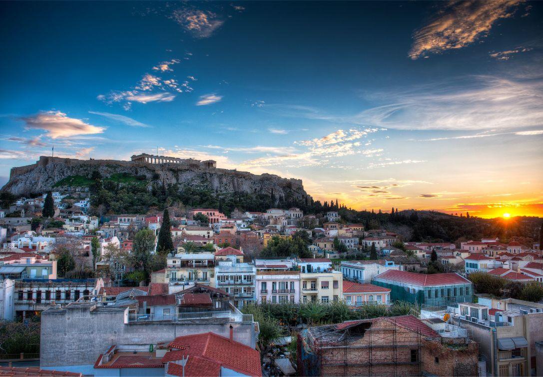 афины фото города погода цвет